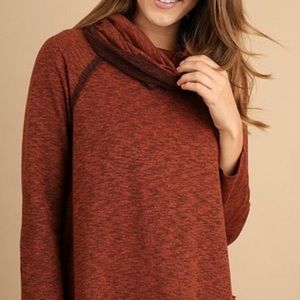 Umgee | Cowl Neck Sweater